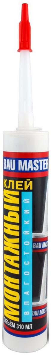 Клей монтажный Bau Master, влагостойкий, 310 млП1030Клей монтажный Bau Master Влагостойкий Р.Клей монтажный для работ в ванных, кухнях прачечных, а также для монтажа ПВХ.Применение:пригоден для проведения строительных, монтажных и изоляционных работ в ванных комнатах, душевых, для приклеивания изделий из ПВХ, других пластиков и стекловолокна, керамической плитки и других декоративных материалов к пористым основаниям (поглощающим воду), например, к бетону, гипсу, цементу, кирпичу, ДСП, окрашенным поверхностям, обоям.Не рекомендуется:для винила, понополистирола (пенопласта), зеркал. Для работы с этими материалами рекомендуется использовать Клеи МОНТАЖНЫЕ Bau Master специального назначения.Свойства:имеет очень быстрое начальное связывание;обладает большой силой схватывания и отличной адгезией;характеризуется прекрасной прочностью соединений;образует эластичный, водонепроницаемый шов;применяется для наружных и внутренних работ (термостойкость шва от -20С до +60С);стоек к воздействию влажности и холода;клей бежевого цвета.Указания к применению:склеиваемые поверхности должны быть сухими, чистыми и обезжиренными. Обрезать наконечник картриджа под углом 45С. Клей нанести при помощи пистолета на одну из склеиваемых поверхностей точечно или полосами. Склеиваемые поверхности соединить, затем рассоединить, подождать около 5-10 минут и соединить повторно, сильно и равномерно прижимая. Склеенные поверхности оставить в контакте на время полного отверждения клея. Излишки клея с поверхностей и инструментов убираются с помощью минеральных растворителей (экстракционный бензин).Время высыхания:10-20 мин (эти значения могут изменяться в зависимости от условий окружающей среды, таких как: температура, влажность, а также род поверхности).Время полного отверждения:до 72 часов (в зависимости от поглощающей способности основания).Расход:300-500г/м2или 11 погонных метров при нанесении полосы шириной 6,5 мм.Температура применения:от +5С до +30С.Состав:каучуки SBS (бутадиен-стироловые), углевод