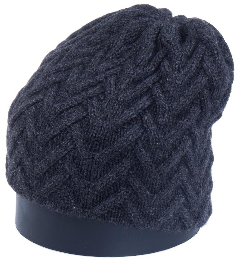 Шапка женская Vittorio Richi, цвет: темно-серый. Aut141936V-44/17. Размер 56/58Aut141936VСтильная женская шапка Vittorio Richi отлично дополнит ваш образ в холодную погоду. Модель, изготовленная из высококачественных материалов, максимально сохраняет тепло и обеспечивает удобную посадку. Шапка дополнена ажурной вязкой. Привлекательная стильная шапка подчеркнет ваш неповторимый стиль и индивидуальность.