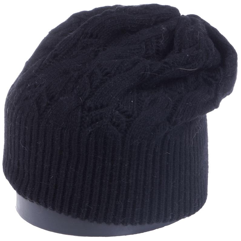 Шапка женская Vittorio Richi, цвет: черный. Aut261858L-18/17. Размер 56/58Aut261858LСтильная женская шапка Vittorio Richi отлично дополнит ваш образ в холодную погоду. Модель, изготовленная из высококачественных материалов, максимально сохраняет тепло и обеспечивает удобную посадку. Шапка дополнена ажурной вязкой. Привлекательная стильная шапка подчеркнет ваш неповторимый стиль и индивидуальность.