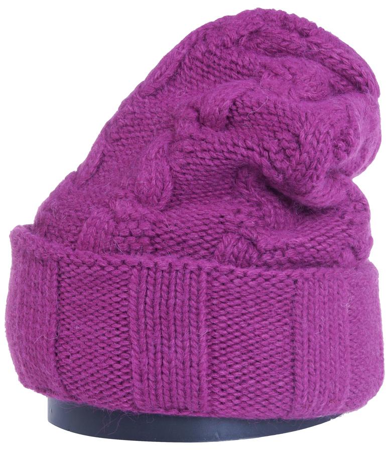 Шапка женская Vittorio Richi, цвет: ярко-брусничный. Aut141937V-50/17. Размер 56/58Aut141937VСтильная женская шапка Vittorio Richi отлично дополнит ваш образ в холодную погоду. Модель, изготовленная из высококачественных материалов, максимально сохраняет тепло и обеспечивает удобную посадку. Шапка дополнена ажурной вязкой. Привлекательная стильная шапка подчеркнет ваш неповторимый стиль и индивидуальность.Шапка двойная