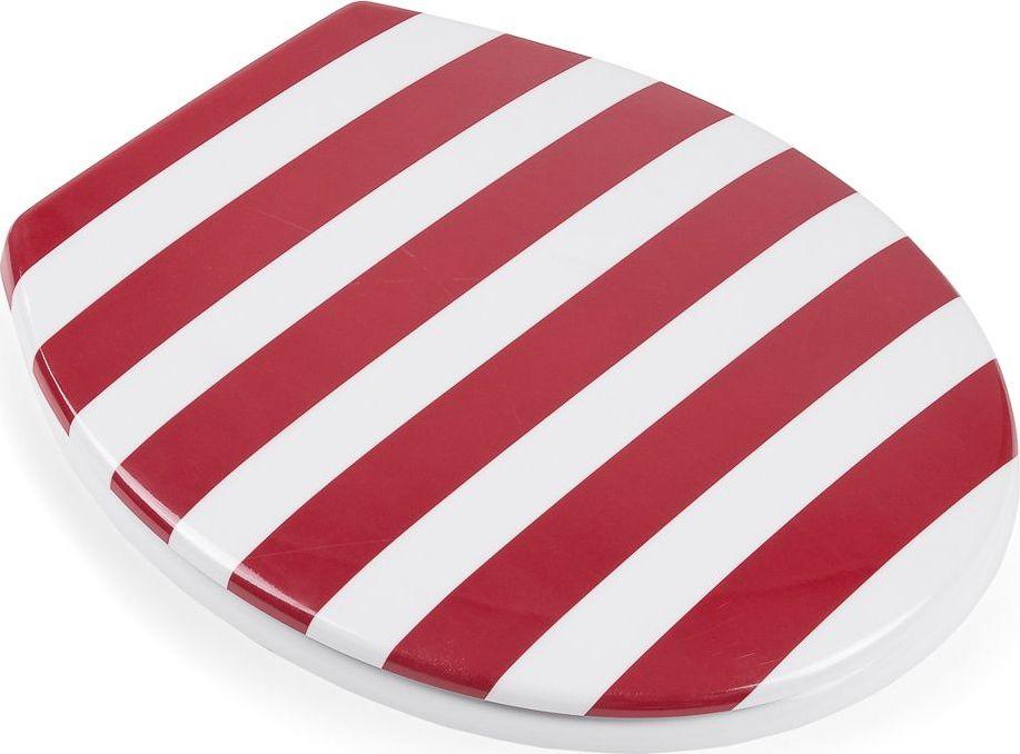 Сиденье для унитаза Moroshka Maritime, цвет: красный. xx006-64 шкатулка moroshka maritime xx006 68