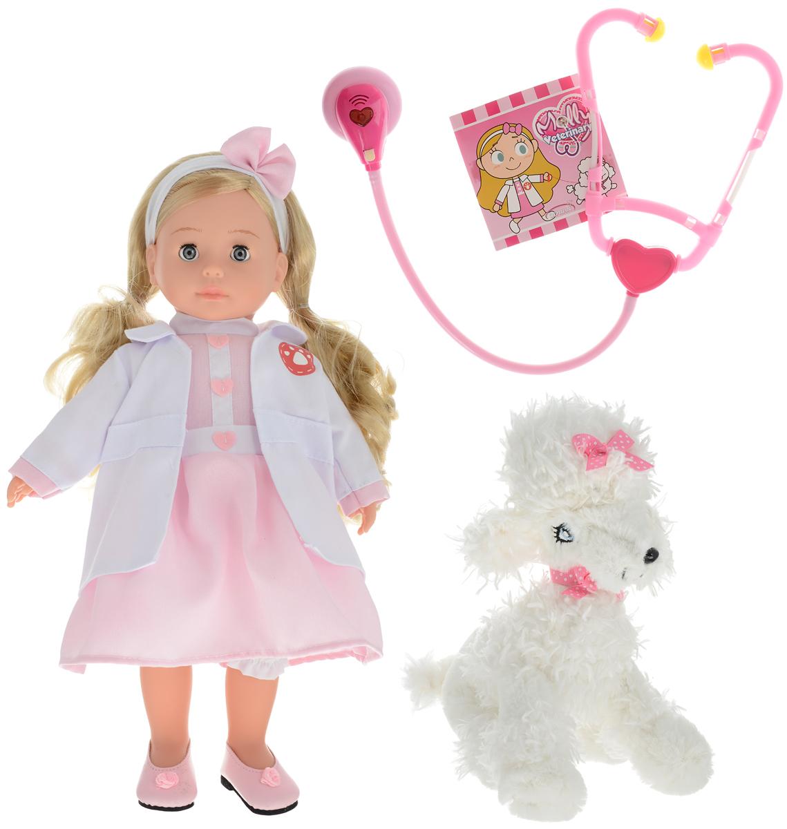 Bambolina Кукла Молли Доктор кукла yako m6579 6