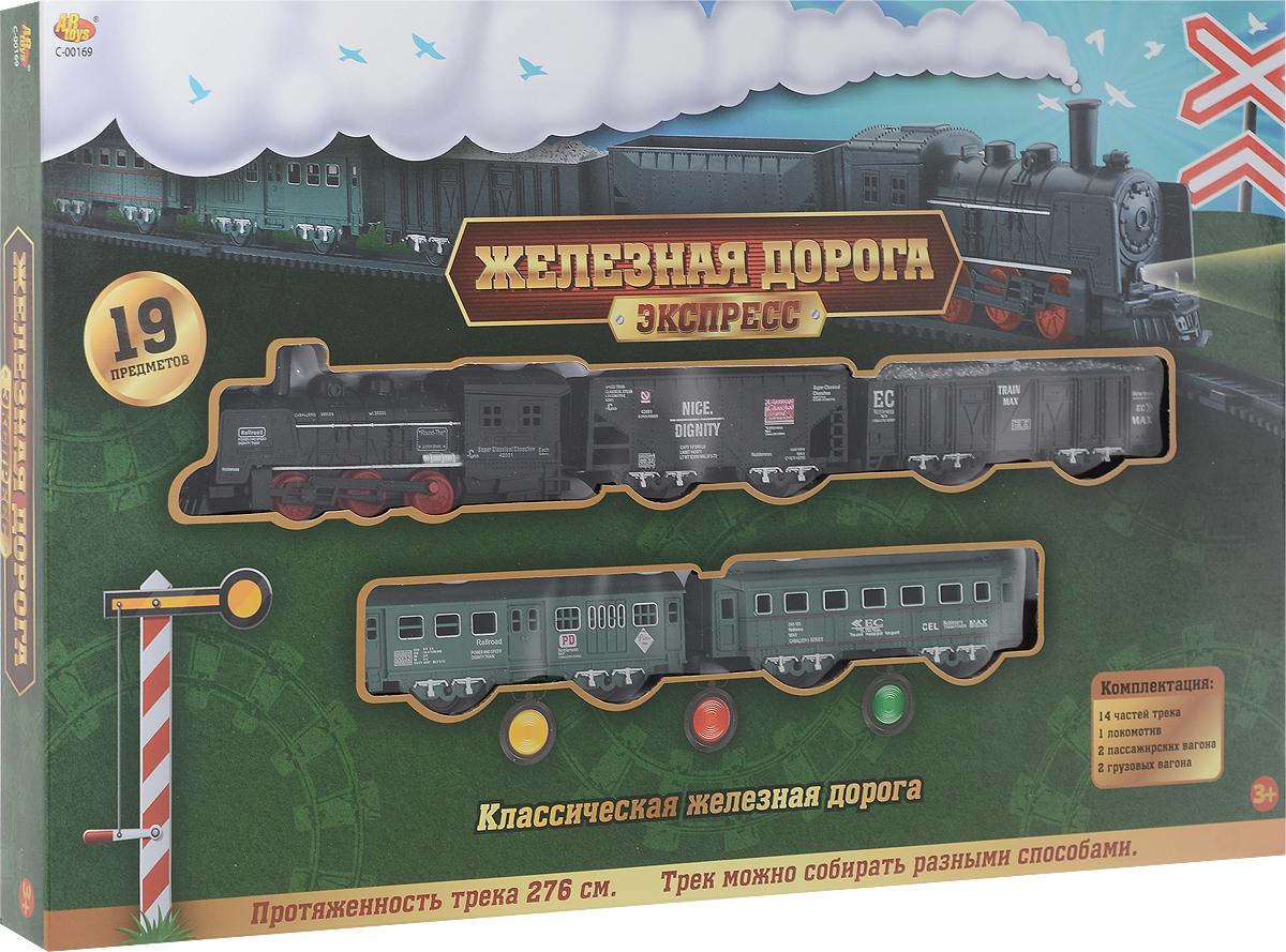 ABtoys Железная дорога Экспресс C-00169 купить глюкометр сателлит экспресс по акции в москве