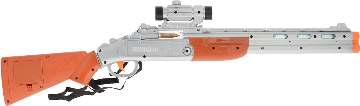 ABtoys Ружье с прицелом ARS-275 abtoys abtoys лук игрушка с прицелом с 3 мя мягкими снарядами