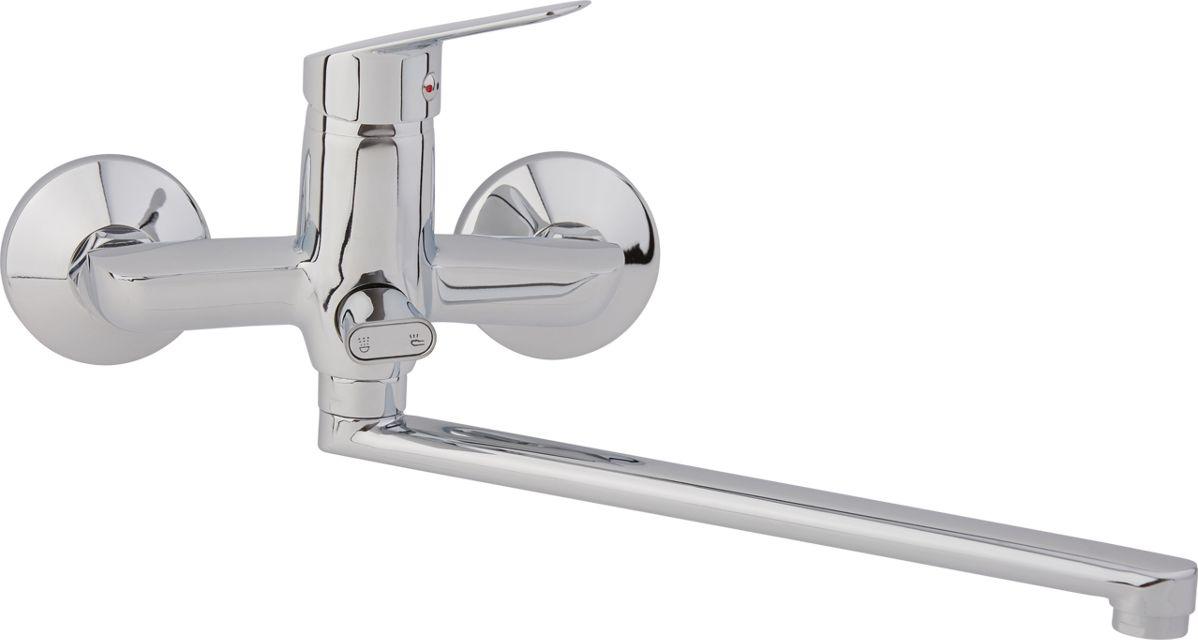 Смеситель для ванны Arco А2010, одноручковый, с L-образным изливом гарнитуры душевые argo набор для биде лейка шланг кронштейн argo dina блистер