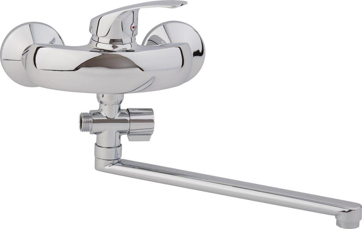 Смеситель для ванны Arco А2112, одноручковый, с L-образным изливом29120000Смеситель для ванны Arco А2112 одноручковый, с L-образным изливом предназначен дляподачи и смешения холодной и горячей воды. Выполнен смеситель из цинкового сплава (всоставе 95% цинка). Диаметр картриджа: 40 мм. Рабочее давление: до 3 Bar.Максимальное проверочное давление: до 4,5 Bar (не более 15 мин).Рабочая температура: до +75°С.Рабочая среда: вода.В комплект входит:- шланг для душа длина 145 см.- однорежимная душевая лейка.- кронштейн на стену для душевой лейки.