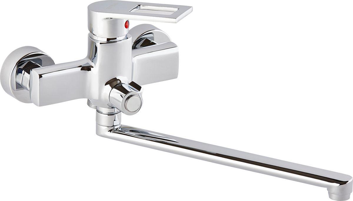 Смеситель для ванны ОПТИМА О2021, одноручковый, с L-образным изливомИС.240725Смеситель для ванны ОПТИМА О2021 одноручковый с L-образным изливом, предназначен для подачи и смешения холодной и горячей воды. Диаметр картриджа: 35 мм.Рабочее давление: до 6 Bar.Максимальное кратковременное давление: до 9 Bar.Рабочая температура: до +90°С.Рабочая среда: вода. В комплект входит: - шланг для душа длина 1,5 м (двойной замок). - 3-х режимная душевая лейка. - кронштейн на стену для душевой лейки.