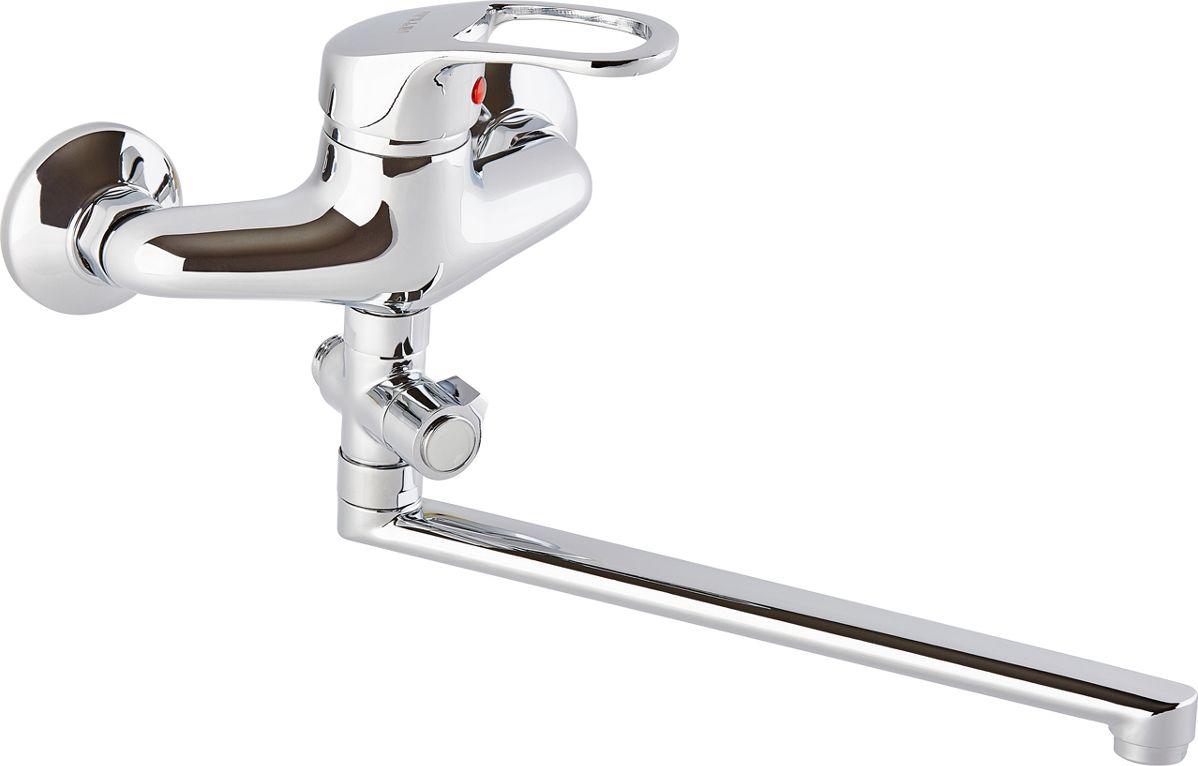 Смеситель для ванны ОПТИМА О2105 одноручковый, L-образныйизлив, 40 картИС.240729Смеситель для ванны ОПТИМА О2105 одноручковый (L-обр.излив, 40 карт.) предназначен для подачи и смешения холодной и горячей водыРабочее давление: до 6 BarМаксимальное кратковременное давление: до 9 BarРабочая температура: до +90°СРабочая среда: вода в комплект входит: - шланг для душа длина 1,5 м (двойной замок) - 3-х режимная душевая лейка- кронштейн на стену для душевой лейки