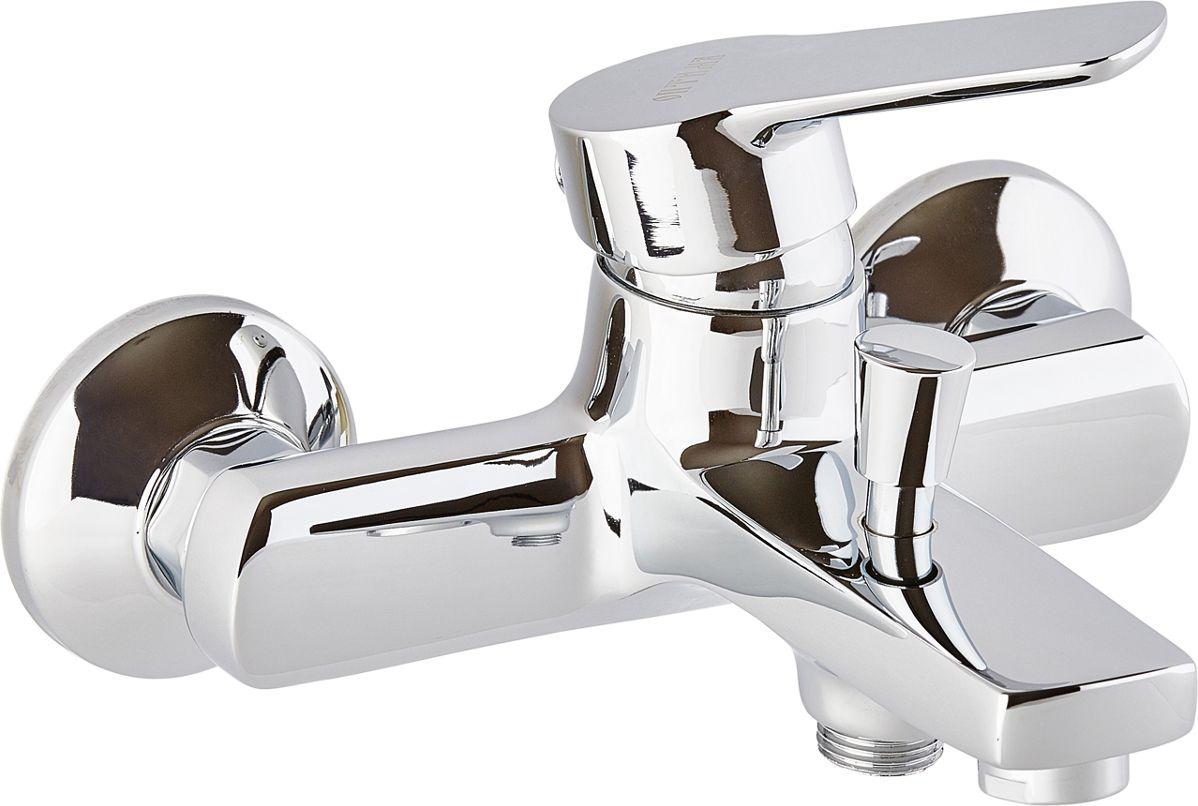 Смеситель для ванны ОПТИМА О3045, кор.излив, 35 картИС.240739Смеситель для ванны ОПТИМА О3045 ( кор.излив,35 карт.) предназначен для подачи и смешения холодной и горячей водыРабочее давление: до 6 BarМаксимальное кратковременное давление: до 9 BarРабочая температура: до +90°СРабочая среда: вода в комплект входит: - шланг для душа длина 1,5 м (двойной замок) - 3-х режимная душевая лейка- кронштейн на стену для душевой лейки