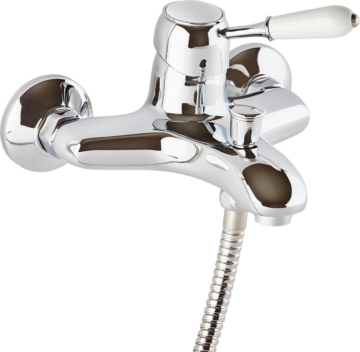 Смеситель для ванны ОПТИМА О3007, кор.излив, 40 карт, белая ручкаИС.240740Смеситель для ванны ОПТИМА О3007 ( кор.излив, 40 карт, белая ручка) предназначен для подачи и смешения холодной и горячей водыРабочее давление: до 6 BarМаксимальное кратковременное давление: до 9 BarРабочая температура: до +90°СРабочая среда: вода в комплект входит: - шланг для душа длина 1,5 м (двойной замок) - 3-х режимная душевая лейка- кронштейн на стену для душевой лейки