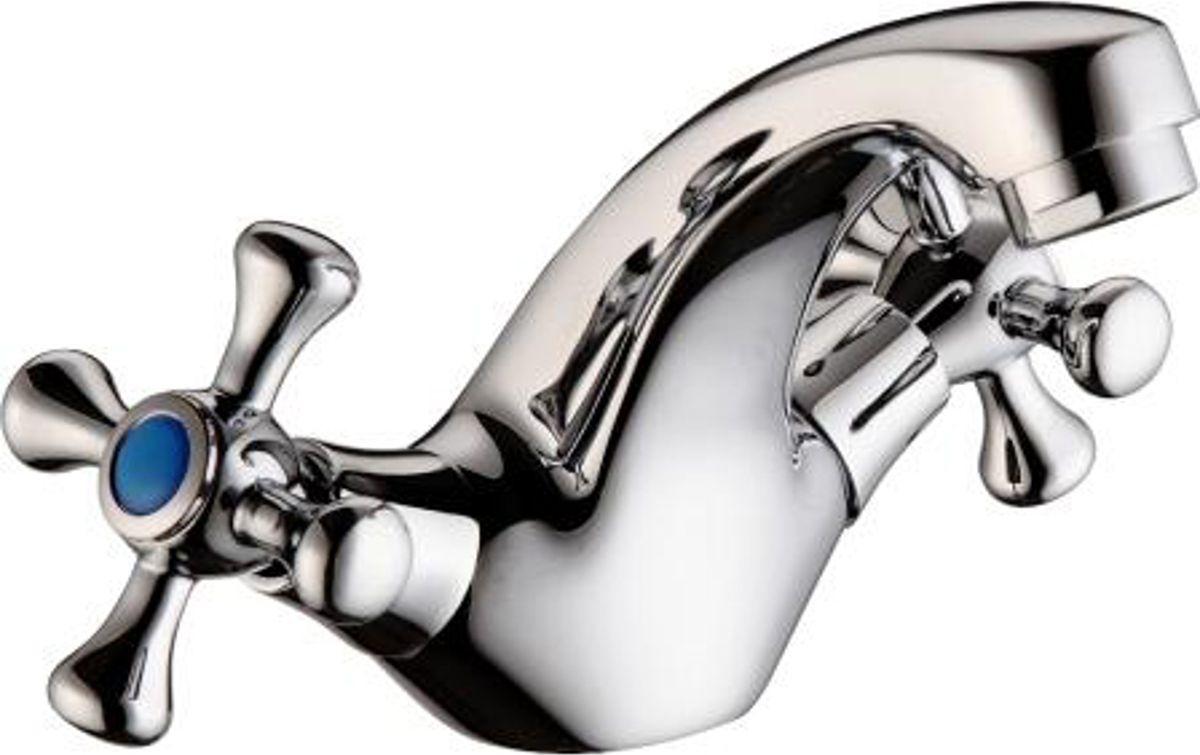 Смеситель для умывальника ОПТИМА О1517, маховики крестИС.240803Смеситель для умывальника ОПТИМА О1517 (маховики крест) предназначен для подачи и смешения холодной и горячей водыРабочее давление: до 6 BarМаксимальное кратковременное давление: до 9 BarРабочая температура: до +90°СРабочая среда: вода в комплект входит:- подводка 40 см для подключения смесителя