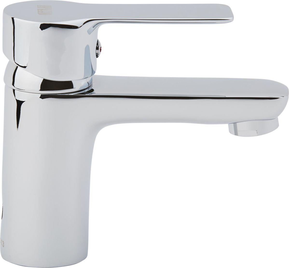 Смеситель для умывальника ОПТИМА О10 (1) 60, одноручковый, с коротким изливомИС.240812Одноручковый смеситель для кухни ОПТИМА предназначен для подачи и смешения холодной и горячей воды. Выполнен из латуни с хромированным покрытием. Снабжен коротким изливом и встроенным аэратором, который разбавляет поток воды воздухом и делает струю мягче. Смеситель легко монтируется на мойку, быстро подключается к водопроводным сетям благодаря подводке, входящей в комплект. Регулировка температуры осуществляется поворотом рукоятки влево-вправо. Картридж: 35 мм. Длина подводки: 40 см. Рабочее давление: до 6 Bar.Максимальное кратковременное давление: до 9 Bar.Рабочая температура: до +90°С.Рабочая среда: вода.