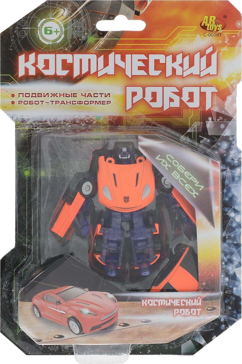 ABtoys Трансформер Космический робот цвет оранжевый abtoys внедорожник инерционный цвет зеленый