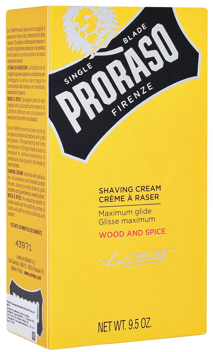 Proraso Крем для бритья Wood and Spice 275 мл400710Особенно насыщенные, компактные и кремовые, продукты из линии Single Blade выделяются своей уникальной консистенцией, созданной специально для того, чтобы облегчить гладкие движения во время бритья одиночным лезвием.