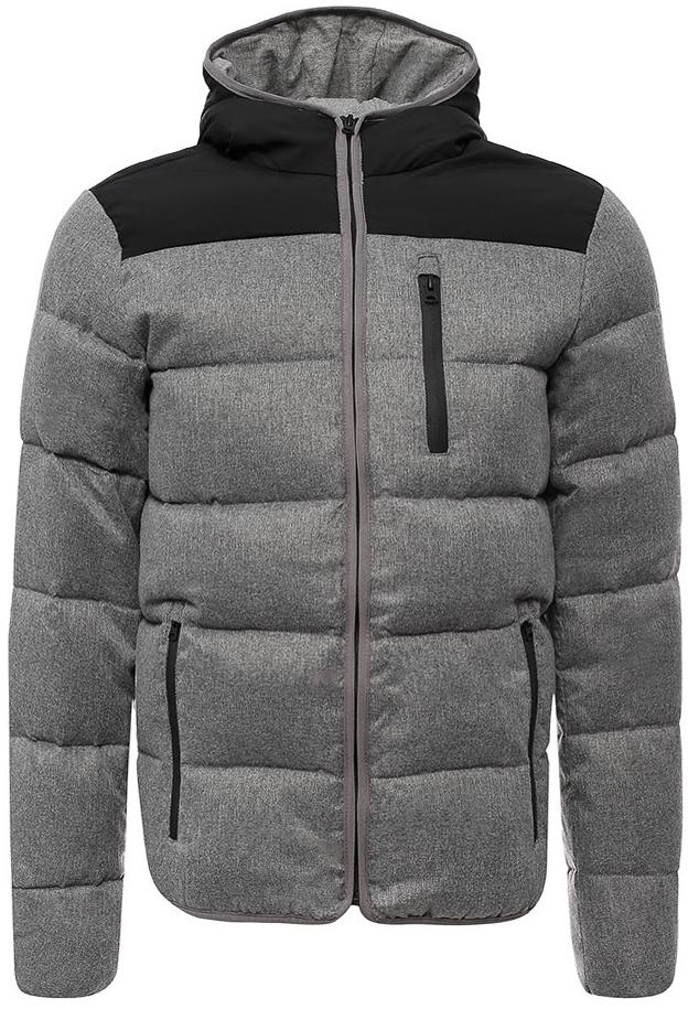 Куртка муж Wrangler, цвет: серый. W4668YU37. Размер S (46)W4668YU37