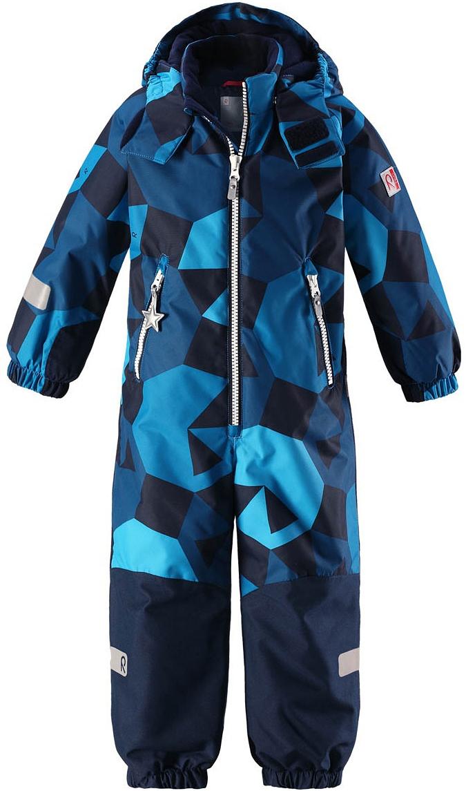 Комбинезон утепленный для мальчиков Reima, цвет: синий. 520205B6494. Размер 122520205B6494