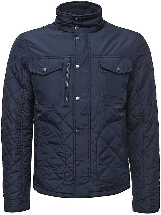 Куртка муж Wrangler, цвет: синий. W4673W835. Размер XL (52)W4673W835