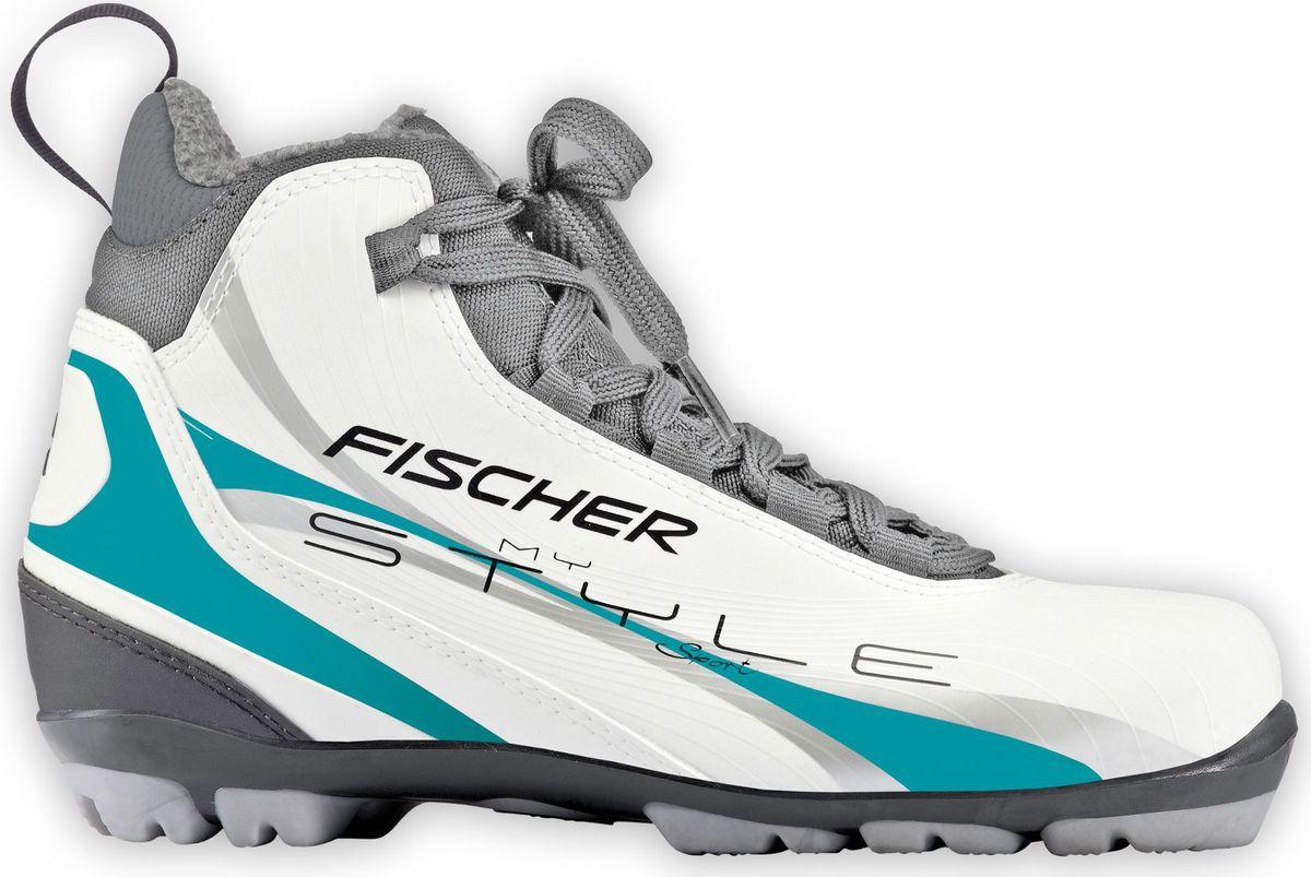 Лыжные ботинки Fischer XC Sport My Style, цвет: белый. Размер 38S30017Fischer XC Sport My Style - это отличная модель для лыжных прогулок. Женская анатомическая колодка, подошва Soft и более тонкая стелькаобеспечивают комфорт и придают необходимую гибкость подошве.Технологии:Internal Molded HeelCap - внутренняя пластиковая вставка анатомической формы в пяточной части. Очень легкая и термоформируемая.Easy Entry Loops - широкое раскрытие ботинка и практичная петля на пятке облегчают надевание/снимание ботинок.Cleansport NXT- специальная пропитка подкладки и стелек ботинок. Система из полезных микробов, которые устраняют неприятный запах.T3 - полиуретановая подошва с хорошей гибкостью, устойчивая к износу при ходьбе. Также используется в детских ботинках.Ladies Fit Concept - для женской целевой группы разработан свой тип колодки, который обеспечивает наилучший комфорт при катании имаксимальную передачу энергии.