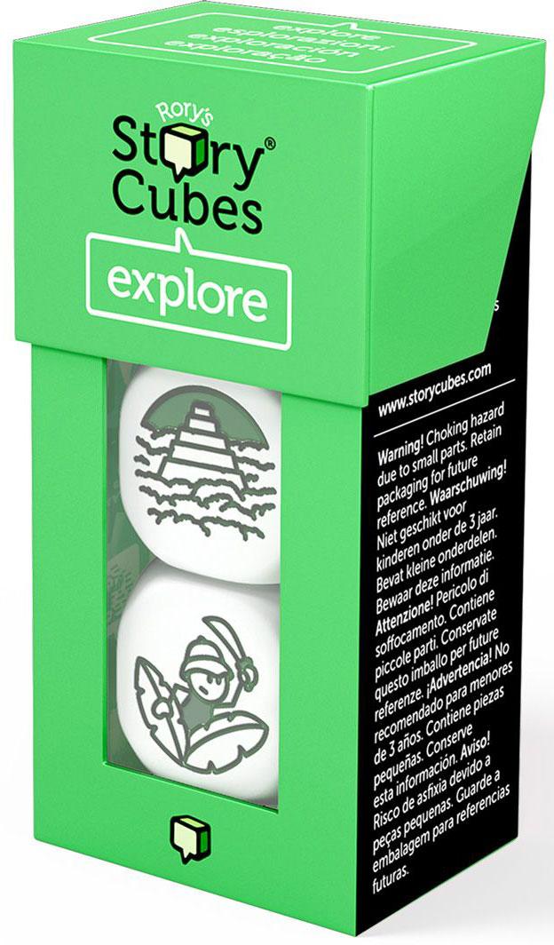Rory's Story Cubes Кубики Историй Открытия 3 шт настольная игра лаборатория игр rory s story cubes кубики историй путешествия 9 кубиков