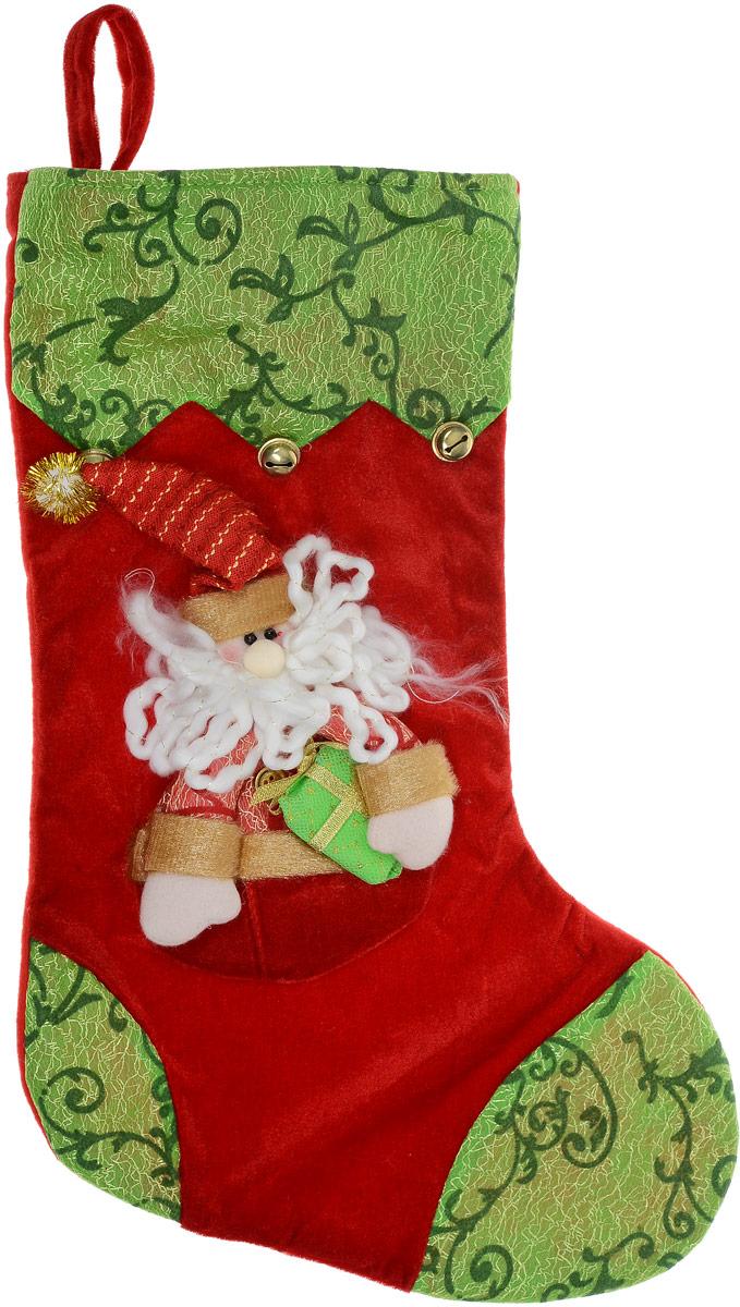 Мешок для подарков Снип Снап Снурре Носок. Санта, 49 х 31 х 1 см0109-0012Мешок для подарков Снип Снап Снурре Носок. Санта выполнен из полиэстера в виде носка с изображением Санты-Клауса. В мешочек можно спрятать подарки. С помощью специальной петельки украшение можно повесить в любом понравившемся вам месте.Новогодние украшения несут в себе волшебство и красоту праздника. Они помогут вам украсить дом к предстоящим праздникам и оживить интерьер по вашему вкусу. Создайте в доме атмосферу тепла, веселья и радости, украшая его всей семьей.