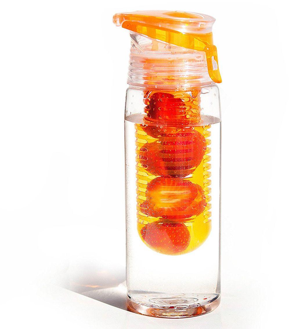 Бутылка Asobu Flavour it 2 go, цвет: оранжевый, 600 млBTA712 orangeAsobu – бренд посуды для питья, выделяющийся творческим, оригинальным дизайном и инновационными решениями.Asobu разработан Ad-N-Art в Канаде и в переводе с японского означает «весело и с удовольствием». И действительно, только взгляните на каталог представленных коллекций и вы поймете, что Asobu - посуда, которая вдохновляет!Кроме яркого и позитивного дизайна, Asobu отличается и качеством материалов из которых изготовлена продукция – это всегда чрезвычайно ударопрочный пластик и 100% BPA Free.За последние 5 лет, благодаря своему дизайну и функциональности, Asobu завоевали популярность не только в Канаде и США, но и во всем мире!Asobu Flavour it 2 go – коллекция в которой функциональность не мешает яркому и легкому дизайну, а скорее наоборот, является его главной составляющей. Ведь, все, что другие пытаются спрятать за непрозрачными стенками, Asobu выставляет на показ, превращая, например, ситечко для заваривания в яркий элемент дизайна!Asobu Flavour it 2 go идеально подходит для:- занятий спортом;- прогулок на природе;- путешествий;- школы и офиса. Особенности:• Объем 600 мл. • BPA FREE (материал, из которого изготовлено изделие, не содержит Бисфенол А).• Ударопрочный пластик.• Устойчив к холодным и горячим напиткам.• Откидывающаяся крышка.