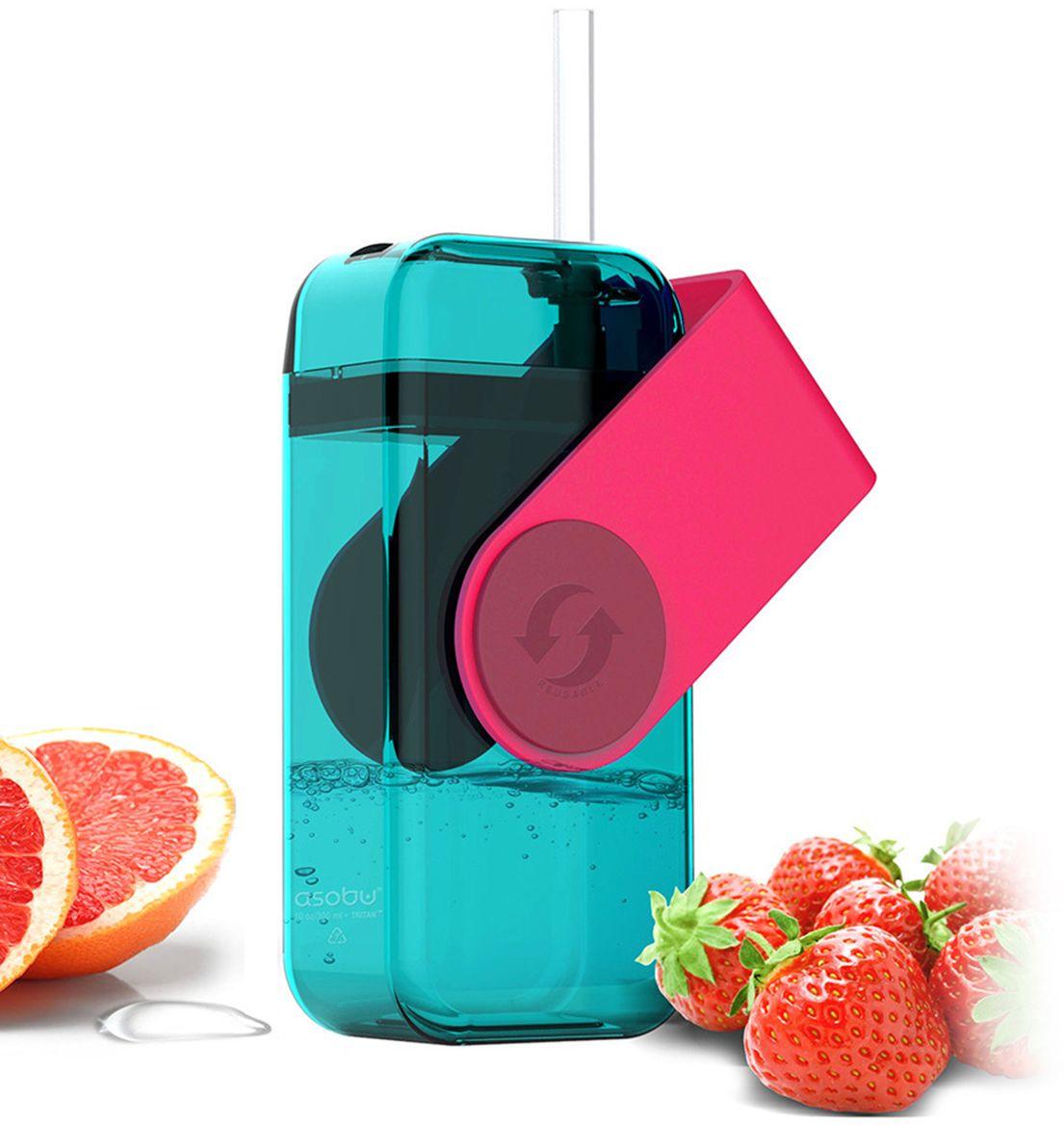 Бутылка Asobu Juicy drink box, цвет: красный, 290 млJB300 redAsobu – бренд посуды для питья, выделяющийся творческим, оригинальным дизайном и инновационными решениями.Asobu разработан Ad-N-Art в Канаде и в переводе с японского означает «весело и с удовольствием». И действительно, только взгляните на каталог представленных коллекций и вы поймете, что Asobu - посуда, которая вдохновляет!Кроме яркого и позитивного дизайна, Asobu отличается и качеством материалов из которых изготовлена продукция – это всегда чрезвычайно ударопрочный пластик и 100% BPA Free.За последние 5 лет, благодаря своему дизайну и функциональности, Asobu завоевали популярность не только в Канаде и США, но и во всем мире!Пора мыслить нестандартно!Juicy drink box вышел за пределы стандартных бутылок для напитков! Многоразовый бокс для напитков эргономичной формы, изготовленный из экологически чистого и полностью перерабатываемого материала. Идеально подходит для сока или воды. Эта серия боксов особенно придется по вкусу детям.Рекомендация по использованию: перед тем, как закрывать наполненный бокс, наклоните и прижмите силиконовою трубочку к крышке, тем самым вы заблокируете отверстие в трубочке и при закрывании крышки напиток не прольется.Перед использованием рекомендуем посмотреть видео и ознакомиться с инструкцией по применению.