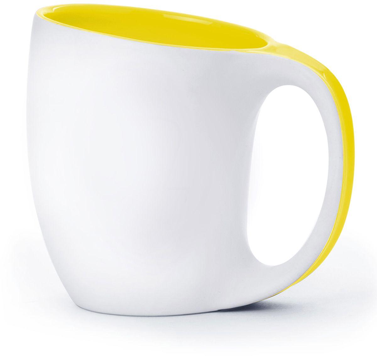 Кружка Asobu The porcelain saphire, цвет: желтый, 400 млMUG 330 yellowAsobu – бренд посуды для питья, выделяющийся творческим, оригинальным дизайном и инновационными решениями.Asobu разработан Ad-N-Art в Канаде и в переводе с японского означает «весело и с удовольствием». И действительно, только взгляните на каталог представленных коллекций и вы поймете, что Asobu - посуда, которая вдохновляет!Кроме яркого и позитивного дизайна, Asobu отличается и качеством материалов из которых изготовлена продукция – это всегда чрезвычайно ударопрочный пластик и 100% BPA Free.За последние 5 лет, благодаря своему дизайну и функциональности, Asobu завоевали популярность не только в Канаде и США, но и во всем мире!Теперь Ваша повседневная кружка – это настоящее произведение искусства! Ведь Asobu не делает скучных и бесполезных вещей!Представляем Вашему вниманию пять эстетически совершенных кружек. Шелковистая белая матовая поверхность и пять вариантов ярких глянцевых цветов внутренних покрытий в сочетании с идеальной формой.Asobu The porcelaine saphire изготовлен из высококачественного фарфора. Можно мыть в посудомоечной машине.
