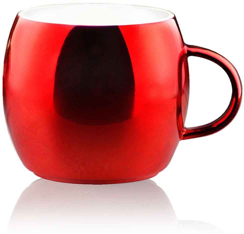 """Кружка Asobu """"Sparkling mugs"""", цвет: красный, 380 мл"""