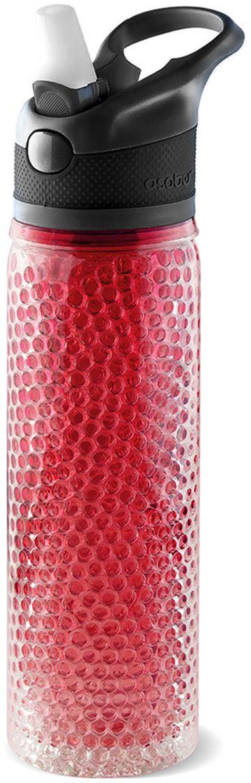 Термобутылка Asobu Deep freeze, цвет: красный, 600 млPF02 redDeep freeze - инновационная бутылка, которая будет держать ваш напиток холодным в течение нескольких часов даже в жаркий день!Технология, используемая в этой бутылке, устраняет необходимость добавлять в воду лед! Двойные ячеистые стенки из Тритана заполнены специальным нетоксичным гелем, который замораживается в холодильной камере всего за час, но держит ваш напиток холодным до 12 часов.