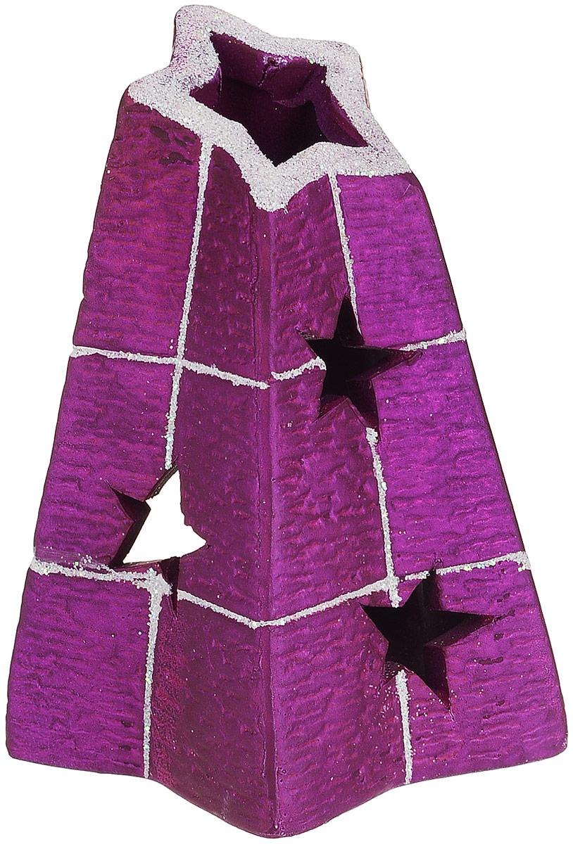 Подсвечник House & Holder, 9 х 9 х 11 см. DHS17753-1HDHS17753-1HПодсвечник House & Holder выполнен из керамики и украшен блестками. В подсвечнике имеется специальное место для чайной свечки (в комплект не входит). Изделие будет прекрасно смотреться на праздничном столе.Новогодние украшения несут в себе волшебство и красоту праздника. Они помогут вам украсить дом к предстоящим праздникам и оживить интерьер по вашему вкусу. Создайте в доме атмосферу тепла, веселья и радости, украшая его всей семьей.