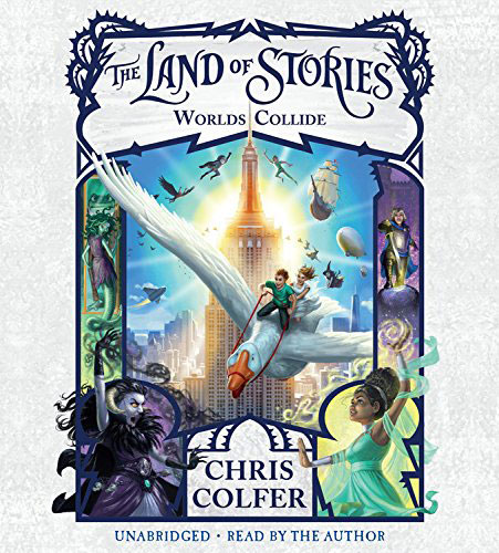 The Land of Stories: Worlds Collide (аудиокнига CD) stories of knights cd