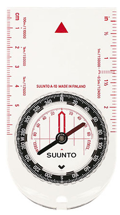 Компас Suunto A-10 SH Compass, цвет: белый компас suunto arrow 6 nh compass цвет белый