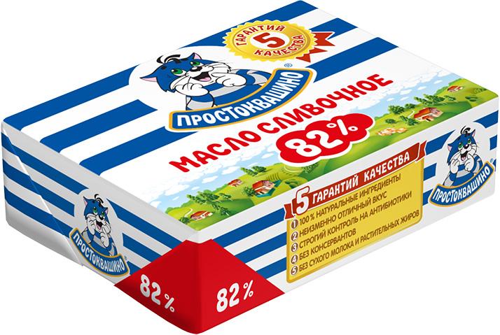 Простоквашино Масло сливочное 82%, 180 г