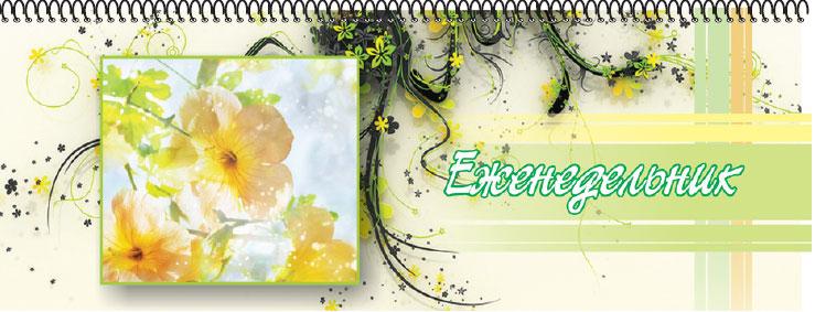 Планинг недатированный Цветы 56 листов цвет желтый 11 x 29 см05-2208Недатированный планинг Цветы на гребне - незаменимый помощник для планирования времени. Внутренний блок: белая офсетная бумага.