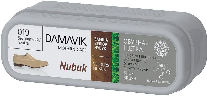 Щетка для обуви Damavik Nubuk, без пропитки, в футляре9300Щетка Damavik Nubuk придает обуви первоначальный внешний вид. Легко очищает от грязи и пыли. Сохраняет и восстанавливает бархатистую структуру нубука, велюра и замши.