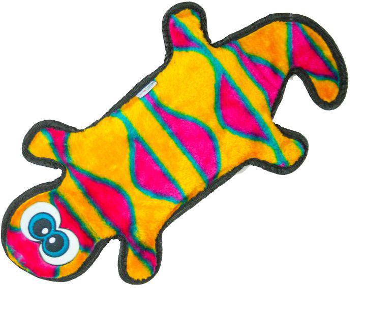 Игрушка для собак Petstages  OH Invinc Mini. Геккон , с пищалками, длина 44 см - Игрушки