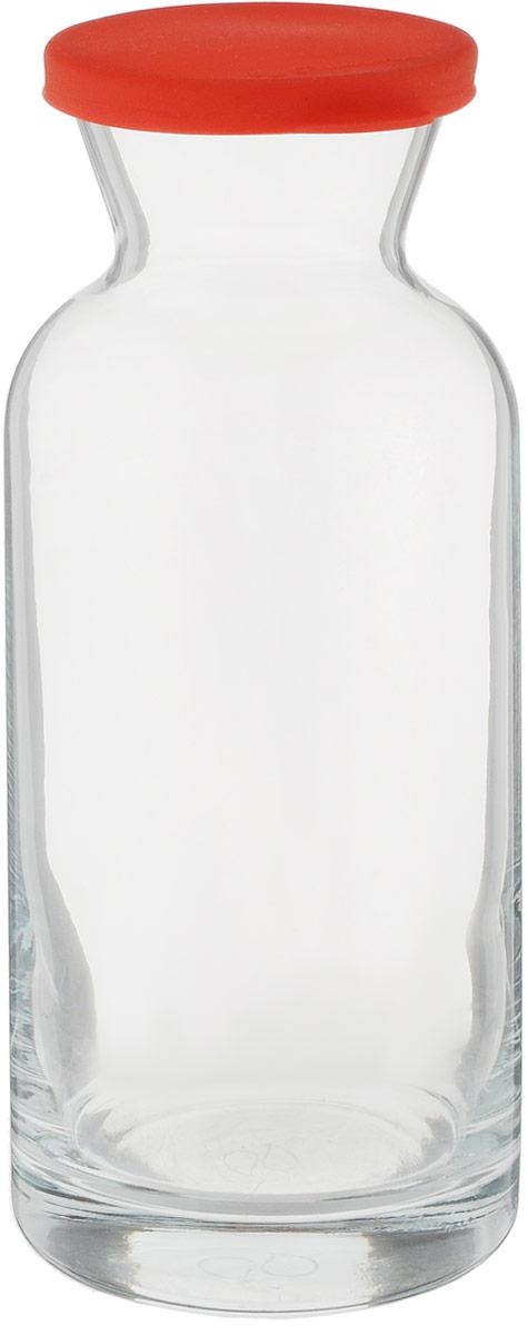 Декантер Pasabahce Виллаж, цвет: прозрачный, красный, 700 мл43814SLB1Декантер Pasabahce Виллаж прекрасно подойдет для красивой подачи вина на стол. Он изготовлен из натрий-кальций-силикатного стекла. Особая форма декантера обеспечивает большую поверхность для насыщения вина кислородом, тем самым, позволяя максимально раскрыть вкус и аромат напитка. Декантер оснащен силиконовой крышкой.Декантер Pasabahce Виллаж украсит сервировку вашего стола, а также станет отличным подарком на любой праздник.Можно мыть в посудомоечной машине.Диаметр (по верхнему краю): 6,5 см.Диаметр основания: 7,5 см.Высота: 20 см.