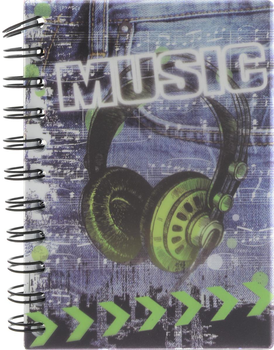 Brauberg Блокнот Music 120 листов в клетку Наушники125382_наушникиBrauberg Блокнот Music 120 листов в клетку Наушники