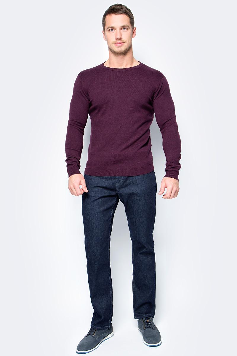 Джемпер мужской Tom Tailor, цвет: фиолетовый. 3023060.99.10_4657. Размер S (46)3023060.99.10_4657Джемпер мужской Tom Tailor выполнен из высококачественного материала. Материал изделия мягкий и тактильно приятный, не стесняет движений и обладает высокими дышащими свойствами. Модель с длинными рукавами и круглым вырезом горловины.