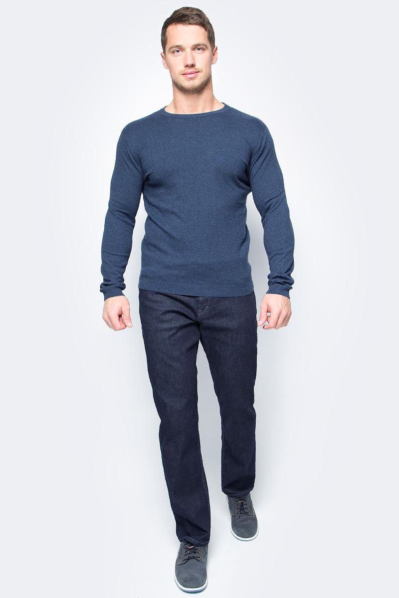 Джемпер мужской Tom Tailor, цвет: синий. 3023060.99.10_6047. Размер L (50)3023060.99.10_6047Джемпер мужской Tom Tailor выполнен из высококачественного материала. Материал изделия мягкий и тактильно приятный, не стесняет движений и обладает высокими дышащими свойствами. Модель с длинными рукавами и круглым вырезом горловины.