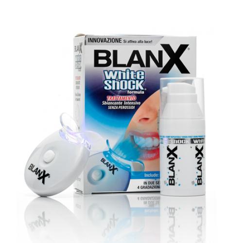 BlanxОтбеливающий уход + световой активатор Blanx whith shock treatment + Led Bite Blanx