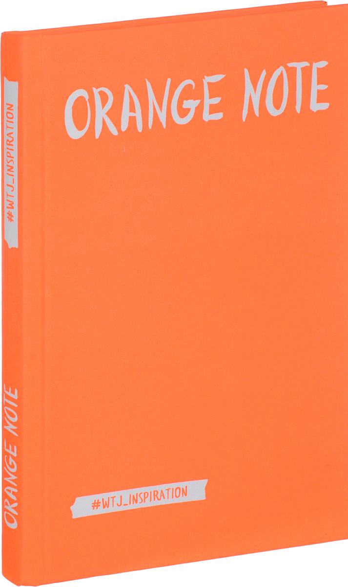 Orange Note. Творческий блокнот с флуоресцентными страницами