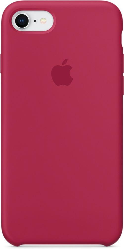 Apple Silicone Case чехол для iPhone 7/8, Rose RedMQGT2ZM/AСиликоновый чехол от Apple - отличное дополнение к вашему iPhone. Он плотно прилегает к кнопкам громкости и режима сна и точно повторяет контуры телефона, сохраняя его тонкий профиль. Мягкая подкладка из микрофибры защищает корпус iPhone. А внешняя силиконовая поверхность приятна на ощупь.