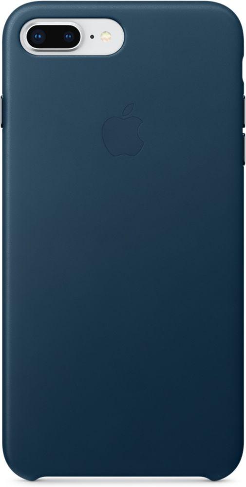 Apple Leather Case чехол для iPhone 7 Plus/8 Plus, Cosmos BlueMQHR2ZM/AКожаный чехол для iPhone 8 Plus/7 Plus точно повторяет контуры iPhone, сохраняя его тонкий профиль. Он изготовлен из специально обработанной, приятной на ощупь кожи европейского производства и со временем покрываются благородной патиной. Цвет алюминиевых кнопок идеально подходит к чехлу. А его подкладка из микрофибры защищает корпус iPhone.