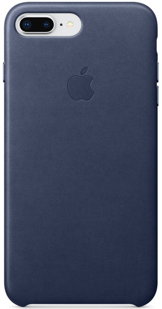 Apple Leather Case чехол для iPhone 7 Plus/8 Plus, Midnight Blue newsets mercury flash powder tpu protector case for iphone 7 4 7 inch baby blue