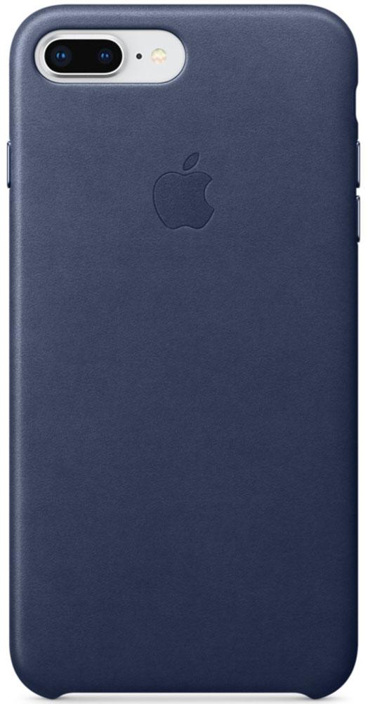 Apple Leather Case чехол для iPhone 7 Plus/8 Plus, Midnight BlueMQHL2ZM/AКожаный чехол для iPhone 8 Plus/7 Plus точно повторяет контуры iPhone, сохраняя его тонкий профиль. Он изготовлен из специально обработанной, приятной на ощупь кожи европейского производства и со временем покрываются благородной патиной. Цвет алюминиевых кнопок идеально подходит к чехлу. А его подкладка из микрофибры защищает корпус iPhone.