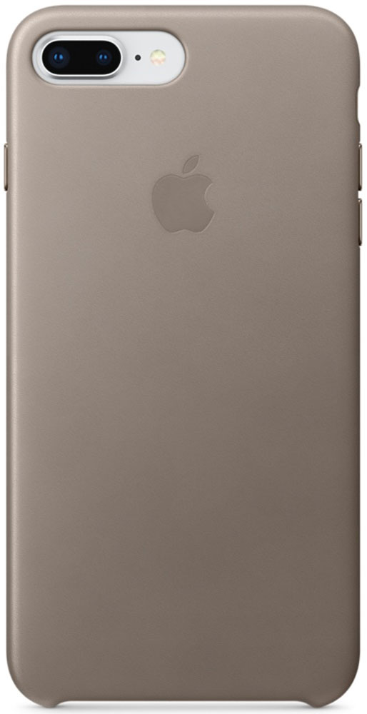 Apple Leather Case чехол для iPhone 7 Plus/8 Plus, TaupeMQHJ2ZM/AКожаный чехол для iPhone 8 Plus/7 Plus точно повторяет контуры iPhone, сохраняя его тонкий профиль. Он изготовлен из специально обработанной, приятной на ощупь кожи европейского производства и со временем покрываются благородной патиной. Цвет алюминиевых кнопок идеально подходит к чехлу. А его подкладка из микрофибры защищает корпус iPhone.