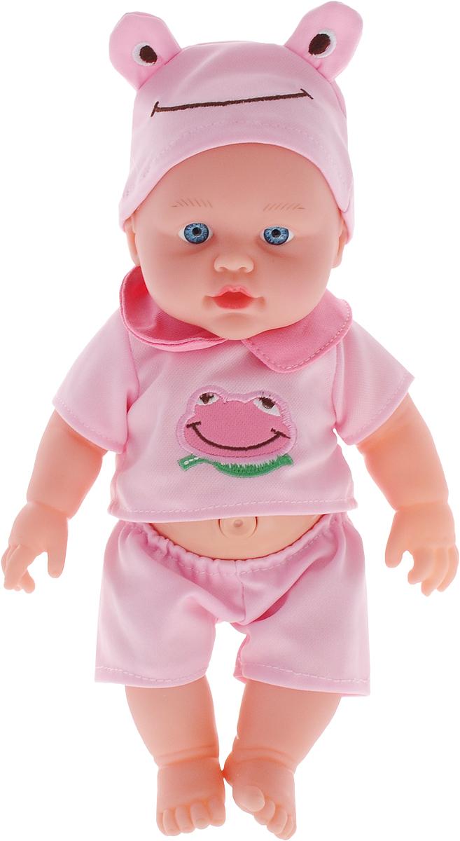 S+S Toys Пупс озвученный цвет наряда розовый 34 см
