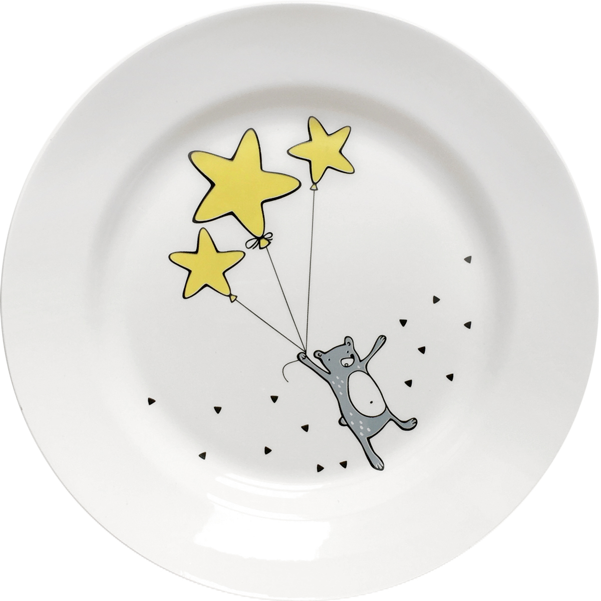 Тарелка Сотвори Чудо Звездный мишка, диаметр 20 см2512677Хотите обновить интерьер кухни или гостиной? Устраиваете необычную фотосессию или тематический праздник? А может, просто ищете подарок для близкого человека? Посуда Сотвори Чудо — правильный выбор в любой ситуации. Её достоинства: - изящный фаянс нежного сливочного цвета; - стойкость краски; - пригодность для посудомоечных машин.