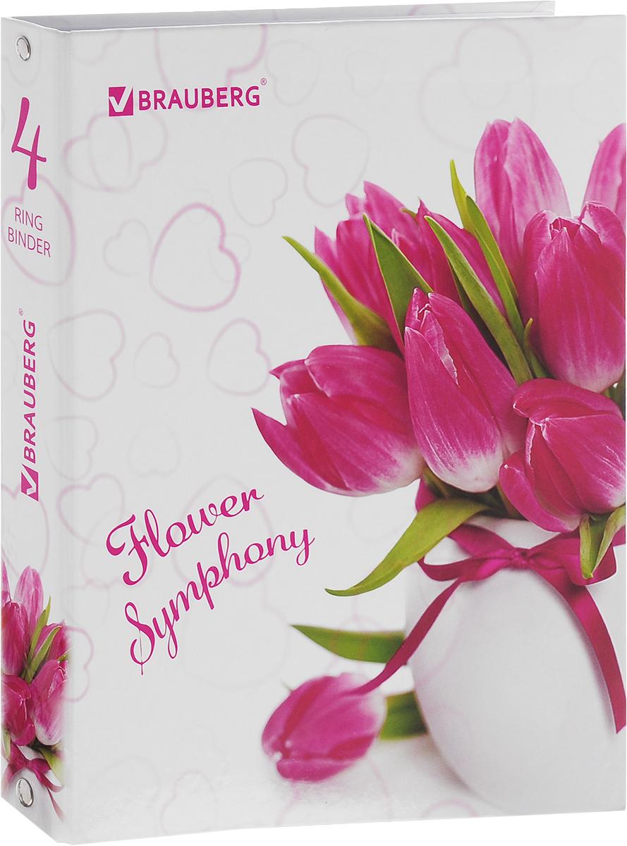 Brauberg Тетрадь на кольцах Цветы Тюльпаны 120 листов в клетку401662_тюльпаныBrauberg Тетрадь на кольцах Цветы Тюльпаны 120 листов в клетку